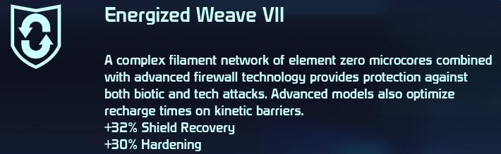 Energized Weave VII