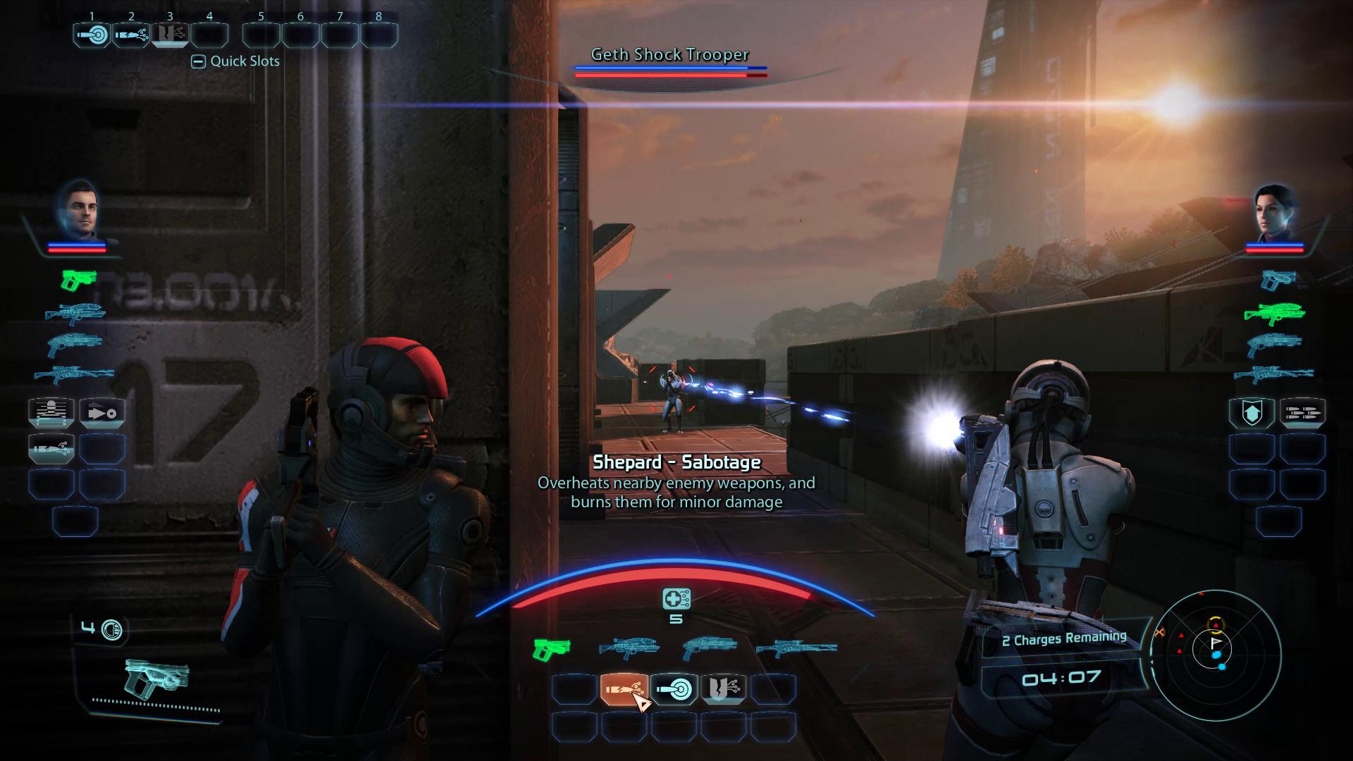 Engineer Sabotage Command HUD