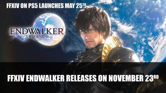 Final Fantasy XIV: Endwalker Expansion Releases on November 23rd