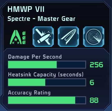 HMWP VII Spectre Master Gear