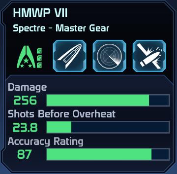ME1 HMWP VII Spectre Gear