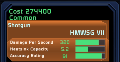 HMWSG VII Spectre Gear