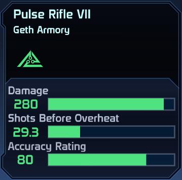 ME1 Pulse Rifle VII