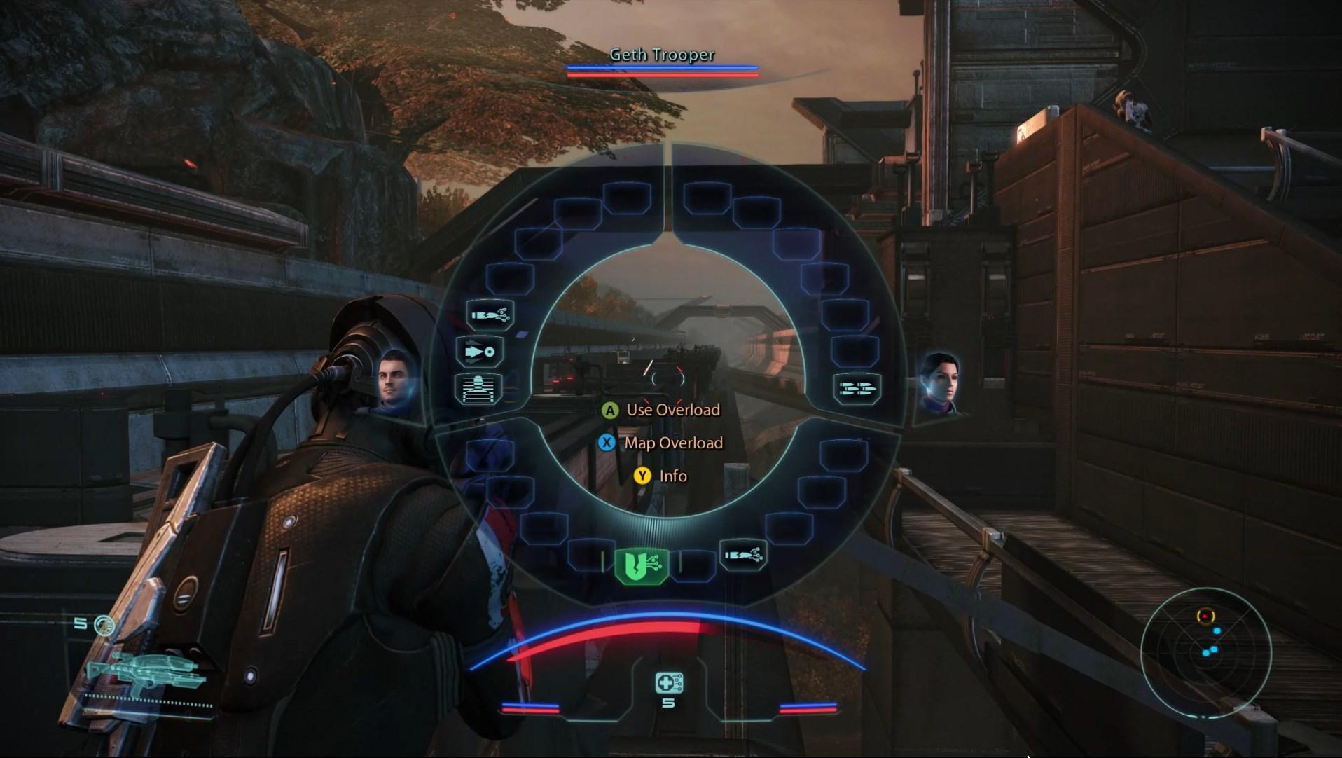 ME1 Tactics HUD