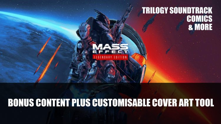 Mass Effect: Legendary Edition Gets A Create Your Own Cover Plus Bonus Content For Download