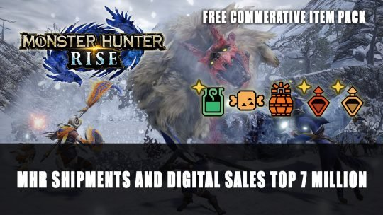 Monster Hunter Rise Shipments and Digital Sales Top 7 Million
