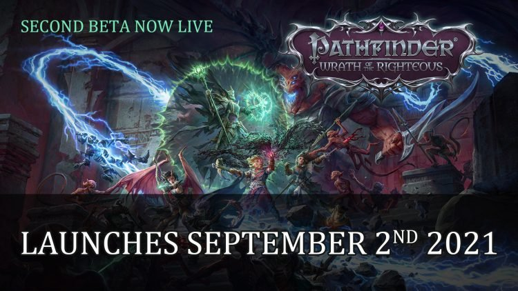 Pathfinder Wrath of the Righteous Releases September 2nd on PC