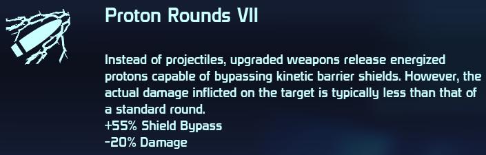 Proton Rounds VII