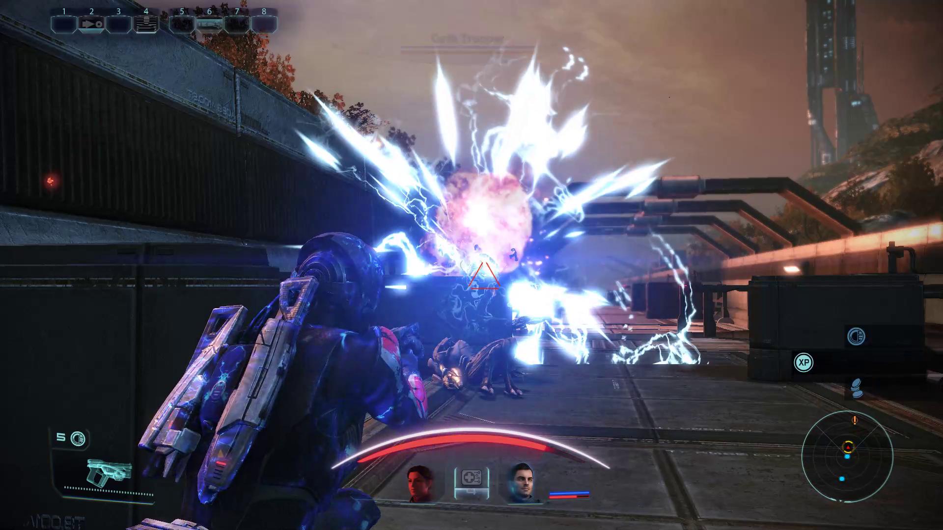 Sentinel Overload Combat