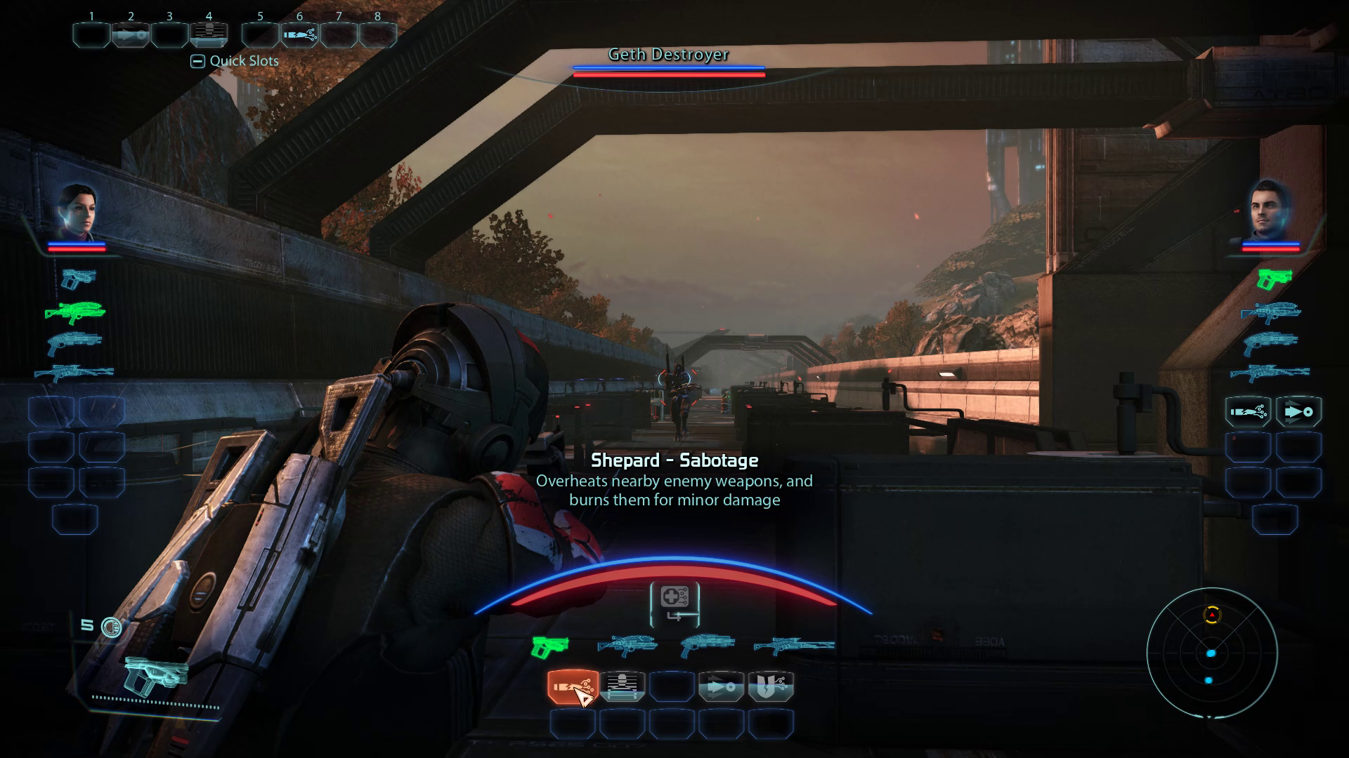 Sentinel Sabotage HUD
