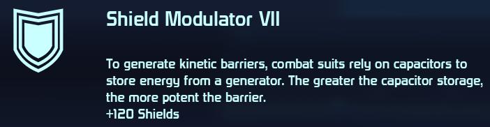 Shield Modulator VII