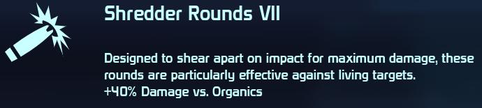 Shredder Rounds VII