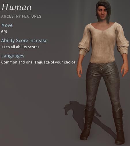 Solasta Human