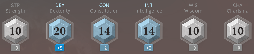 Solasta Rogue Ability Score Choice at Level 8