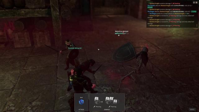 Solasta Sneak Attack