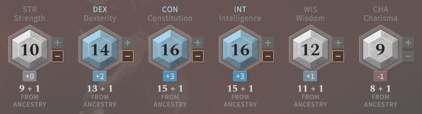 Solasta Wizard Abilities at Level 1