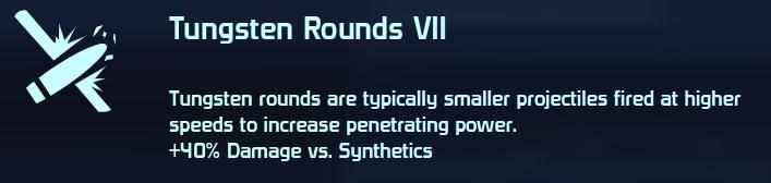 Tungsten Rounds VII