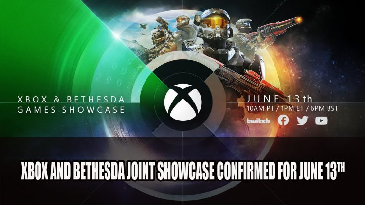 Xbox and Bethesda Announce Joint E3 2021 Showcase for June 13th