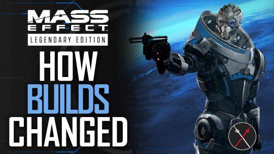 Mass Effect Legendary Editions Builds – The Evolution of Mass Effect