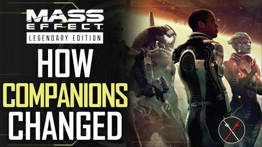 Mass Effect Legendary Edition Companions & Romance – The Evolution of Mass Effect