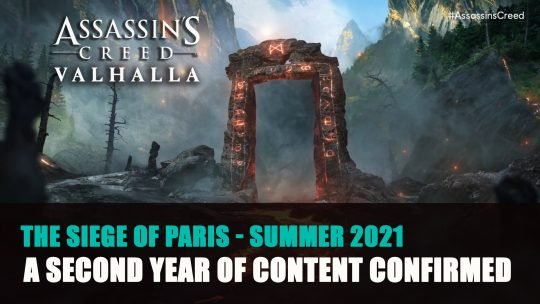 Assassin's Creed Valhalla Will Get a Second Year of Content and Discovery Tour