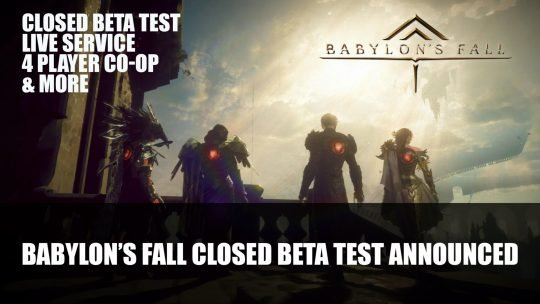 Babylon's Fall Adds PS5 Version; Closed Beta Test Sign-Ups Announced