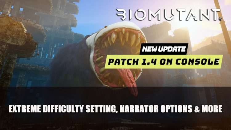 Biomutant Patch 1.4 Now on Console