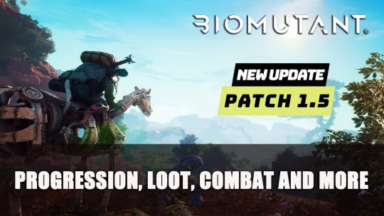 Biomutant Patch 1.5 Breakdown: Progression, Loot, Combat And More!