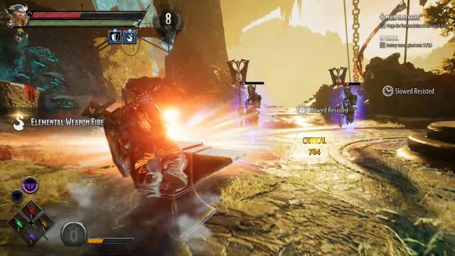 Bruenor Build Guide: DnD Dark Alliance Anvil of Clangeddin Ability
