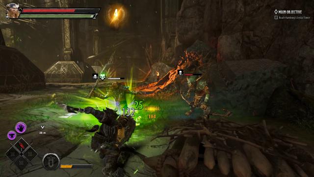 DA Bruenor Battlehammer in Combat
