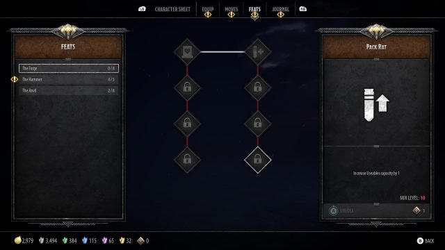 Bruenor Build Guide: DnD Dark Alliance The Forge Feat Tree