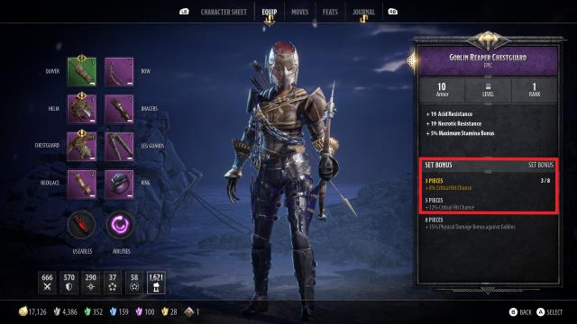 Catti-Brie Build Guide Goblin Reaper Set