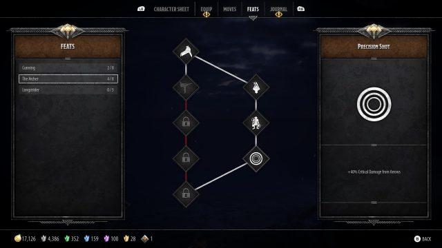 Catti-Brie Build Guide The Archer Feats