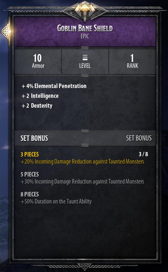 Bruenor Build Guide: DnD Dark Alliance Goblin Bane Set
