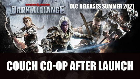 Dark Alliance Will Get Split-Screen Co-op After Launch; First Free DLC This Summer