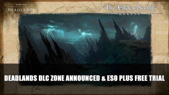 Elder Scrolls Online Deadlands DLC Revealed Releasing Fall 2021