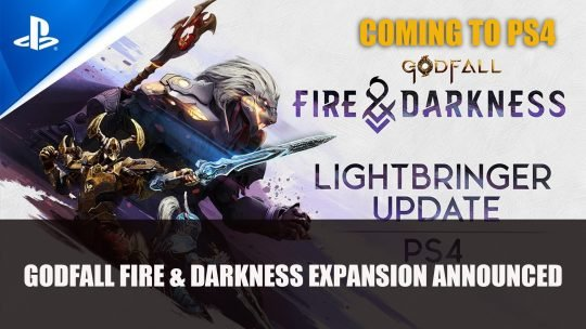 Godfall Coming to PS4 Alongside 'Fire & Darkness' Expansion on August 10th