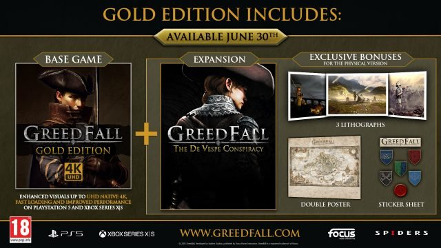 Greedfall Next-Gen Patch & Gold Edition To Launch June 30th
