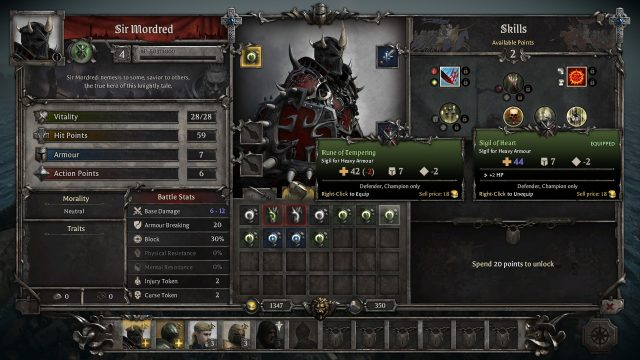 King Arthur Knight's Tale Patch v0.0.4 Breakdown Inventory Sorting