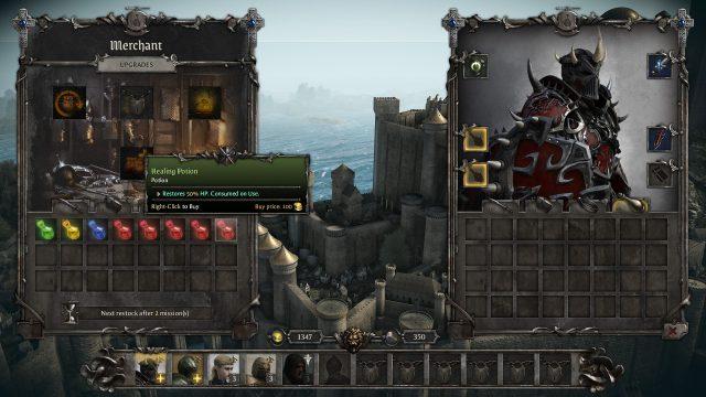King Arthur Knight's Tale Patch v0.0.4 Breakdown Merchant