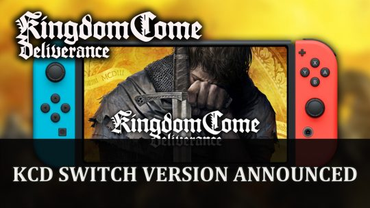 Kingdom Come: Deliverance Announced to Be Coming to Switch