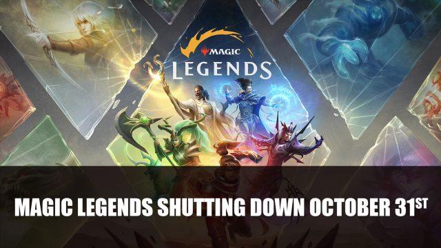 Magic Legends shutting down october 31st Top RPG News Of The Week: July 4th (Magic Legends, Diablo IV, Baldur's Gate 3 and More!)