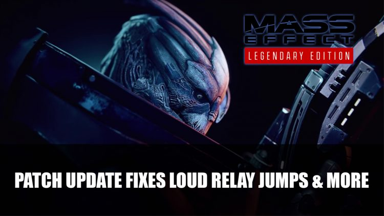 Mass Effect: Legendary Edition Patch Update Fixes Loud Relay Jumps and More