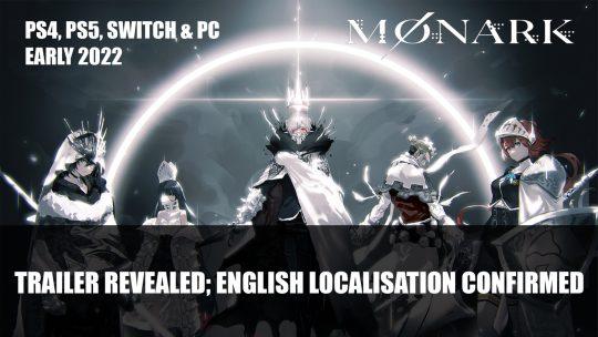 Monark RPG By Shin Megami Tensei Devs Reveal Trailer; Confirms English Localisation