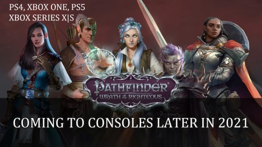 Pathfinder Wrath of the Righteous Announced to be Coming to Consoles Later in 2021