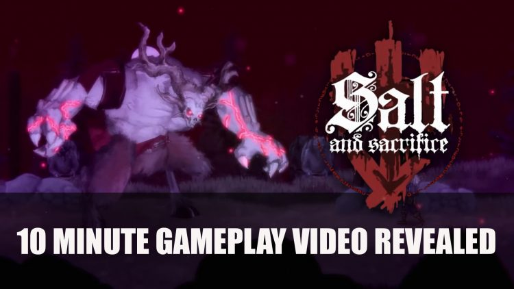 Salt and Sacrifice Gets 10 Minute Gameplay Video