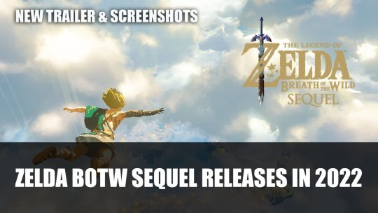 The Legend of Zelda: Breath of the Wild Sequel Launches 2022