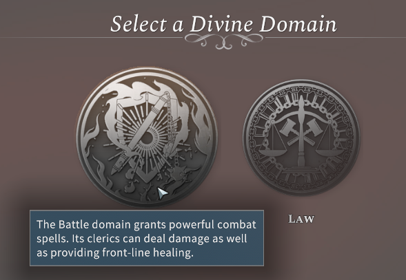 Solasta Battle Divine Domain