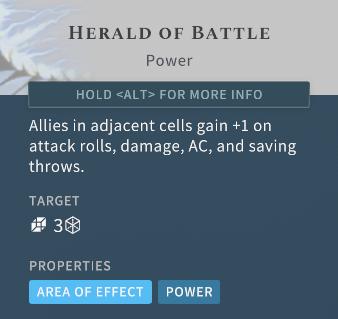 Solasta Herald of Battle