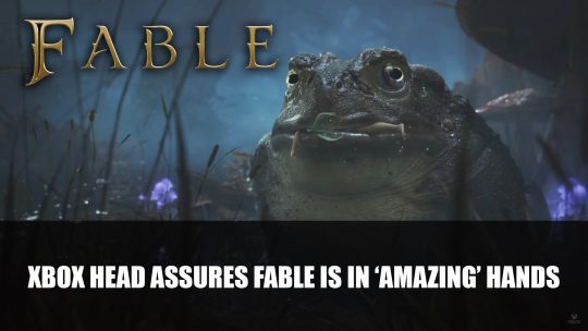 Fable Game in 'Amazing' Hands Says Xbox's Phil Spencer